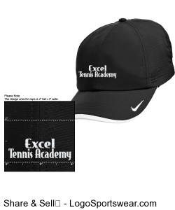Black and white Nike hat Design Zoom