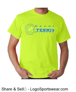 Excel Tennis Academy T-shirt Design Zoom